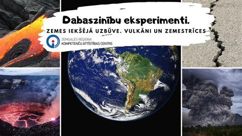 Dabaszinību eksperimenti (IX) Zemes iekšējā uzbūve ...