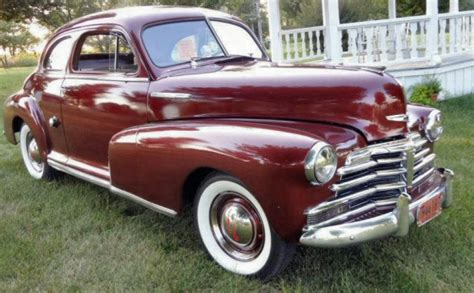 1948 Chevrolet Stylemaster Business Coupe