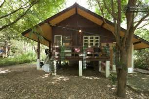 cabin floor plans free peaceful wooden cottage in thailand tiny house pins