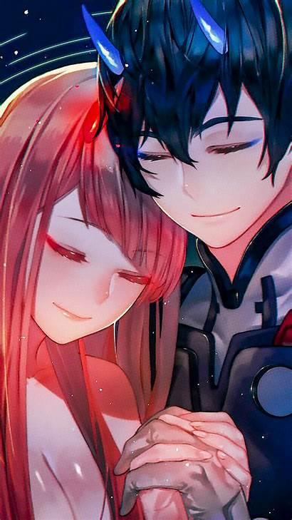 Darling Hiro Franxx Zero Anime Hug Wallpapers