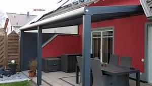 Terrassenüberdachung Alu Mit Montage : terrassen berdachung alu weterra terrassend cher ~ Articles-book.com Haus und Dekorationen