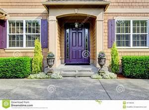 Porche Entrée Maison : ext rieur de luxe de maison porche d 39 entr e avec la porte ~ Premium-room.com Idées de Décoration
