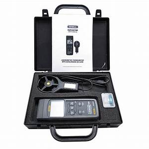 General Tools Daf4207sd Anemometer  Thermometer With Type K