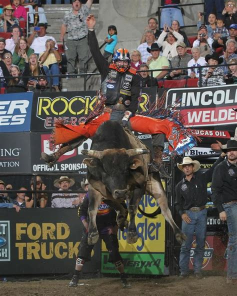 professional bull riders built ford tough series winston