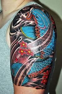 Tatouage Homme Japonais : irezumi ou le tatouage japonais traditionnel lifestyle tatouage tatouage koi tatouage ~ Melissatoandfro.com Idées de Décoration