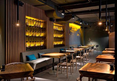 attractive restaurant decor  kiev  yod design studio