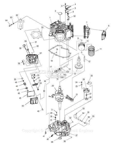V Engine Diagram by Generac 4704 0 Parts Diagram For 760 V Engine