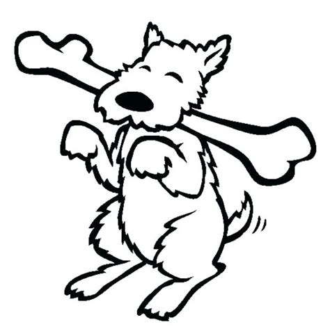 dog bone coloring page  getcoloringscom