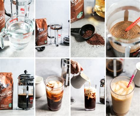 You may have to use fewer measurements of water and ground coffee. Starbucks Iced Coffee Copycat Recipe - Sweetphi