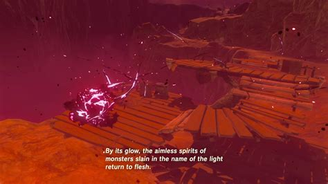 Zelda Blood Moon Zelda Breath Of The Wild Blood Moon Cutscene Youtube
