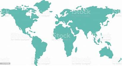 Map Vector Countries Geography Illustration Flat Global