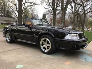 92 Mustang GT, Triple Blk, 5spd, Leather, New Paint/Wheels, Trade for Wrangler? - Classic Ford ...