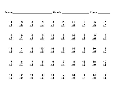 HD wallpapers free math worksheets for grade 1 addition