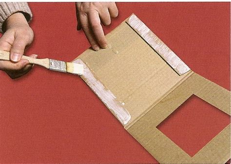 photo frame  corrugated cardboard art