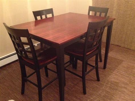 Pub Chairs For Sale by Pub Style Dining Room Table 4 Chairs For Sale Reduced