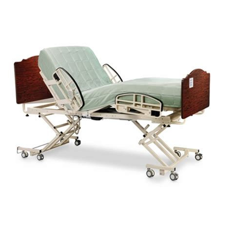 medline alterra hi low hospital bed set package medline