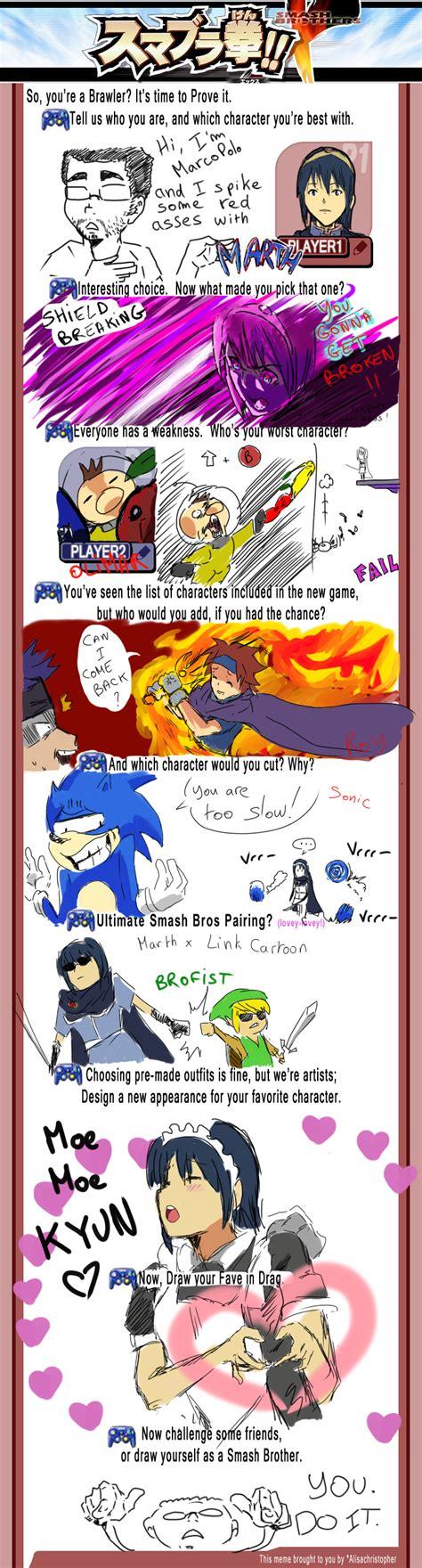 Smash Bros Memes - smash bros brawl meme by doodlerush on deviantart