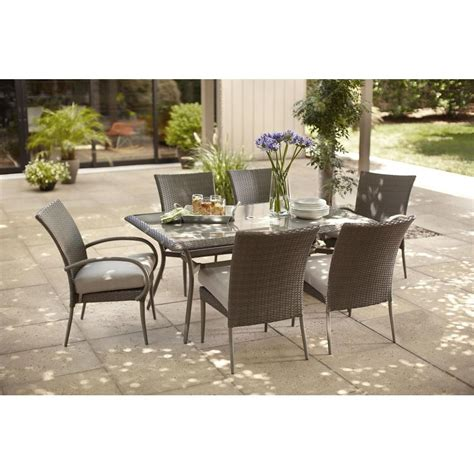 home depot garden table patio furniture cushions home depot marceladick com