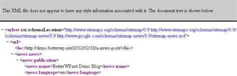 Better Wordpress Google Xml Sitemaps (support Sitemap