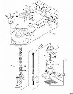Mercury Marine 50 Hp  3 Cylinder  Jet Pump Assembly Parts