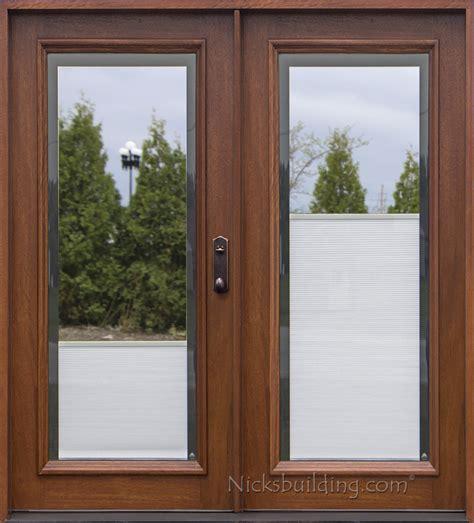 Patio Door With Blinds Between Glass blinds between glass