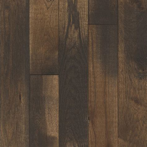 home depot flooring offers prefinished hardwood flooring home depot millstead hs maple chocolate 38 in thick x 334 in wide