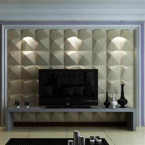 leather look wall covering 3d leather wall tile 11 8x11 8in