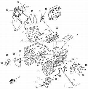 power wheels t8396 parts list and diagram With power wheels jeep