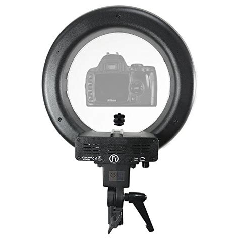 dimmable led ring light limostudio 12 inch diameter dimmable continuous round led
