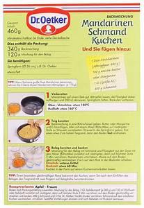 mandarinen schmand kuchen dr oetker
