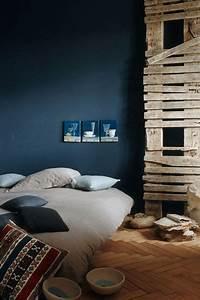 Chambre Bleu Nuit : chambre noire ~ Melissatoandfro.com Idées de Décoration