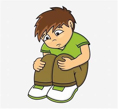 Sad Clipart Boy Face Sadness Transparent Clip