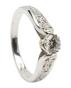 Celtic Wedding Engagement Rings