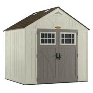 suncast tremont 8x7 storage shed bms8700 free shipping