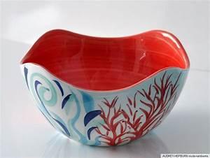 Keramik Geschirr Mediterran : bassano keramik sch ssel rund 24 cm gebogener rand koralle ~ Michelbontemps.com Haus und Dekorationen