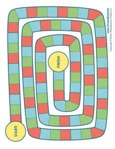 Blank Game Board Template