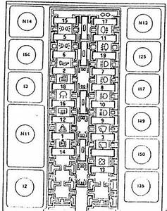 Alfa Romeo 155 - Fuse Box Diagram