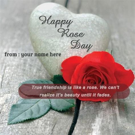 happy rose day red rose  images