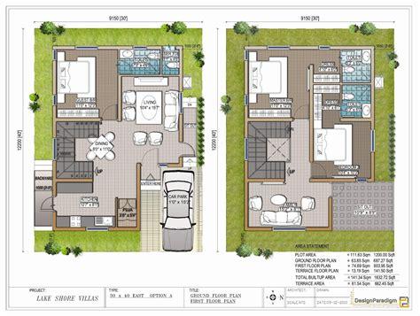 photos and inspiration house plans in 30x40 site lake shore villas designer duplex villas for in