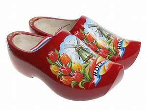 Red Tulip Clogs - Dutch Clogs
