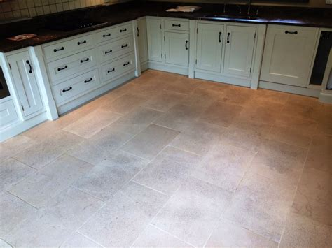 Deep Cleaning Dirty Limestone Floors