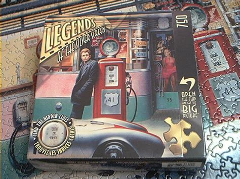 Master Pieces 750 Pc Puzzle~legends Silver Screen~complete
