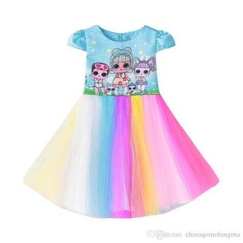 girls lol dolls dress  kids party dresses