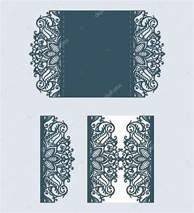beautiful laser cut invitation card with lace for wedding With laser cut wedding invitations free download