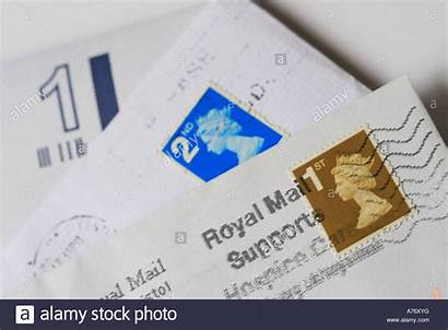 Mail Letters Stamps Royal Alamy Royalty
