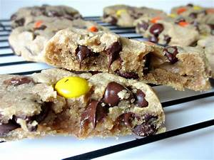 Reese's Pieces Soft Peanut Butter Cookies - Love to be in ...