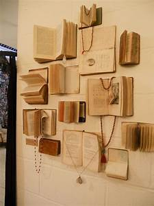 Easy, And, Beautiful, Diy, Projects, Made, With, Old, Books, 2017