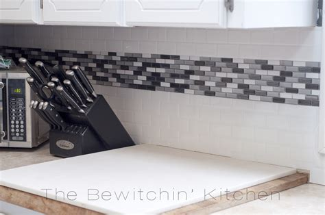 Press  Peel And Stick Backsplash  Smart Tiles