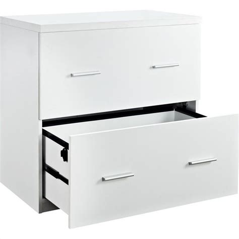 white lateral file cabinet 2 drawer lateral file cabinet in white 9532196