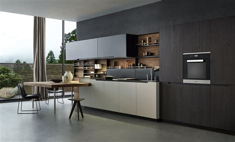 and black kitchen designs cuisines int 233 gr 233 es de varenna poliform architonic 7662